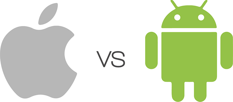 iOS vs. Android as a cognitive prosthetic