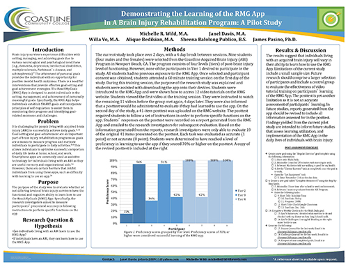 RMG Research Poster